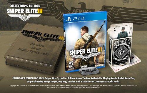 Sniper Elite III: Collectors Edition - PlayStation 4 Collectors Edition