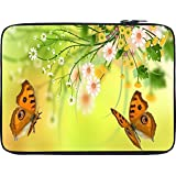 Snoogg Butterfly Around The Summer 2601 12 To 12.6 Inch Laptop Netbook Notebook Slipcase Sleeve