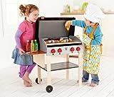 Hape - Playfully Delicious - Gourmet BBQ Grill and Shish Kabob Play Food Set