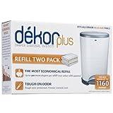 Diaper Dekor Plus Refills 2 Pack