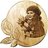 GREEN 2, NMV Wooden Plaque,Engraved Wooden Photo Plaque,Laser Engraved Photo On Wood …