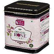 Healthbuddy Organic Rose Green Tea 100 Gm
