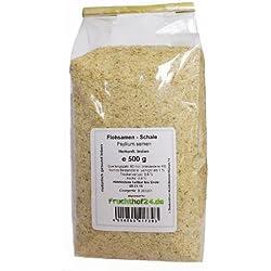 Flohsamenschalen - aus Indien - 1 kg - Psyllium - 99% Reinheit