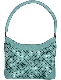 Stitch & Turn Women Handbag (Light Green, AGV_light Green)