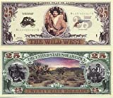 WILD WILD WEST NOVELTY MONEY BILL (5 bills)