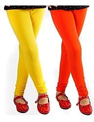 Style Acquainted People Women's Cotton Leggings (Pack Of 2) - B015J8A4U8