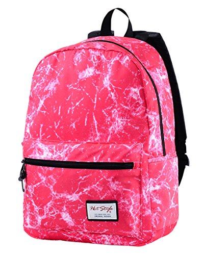 HotStyle éclairage pour enfant Motif école Sac à dos pour ordinateur portable 15 - rosa