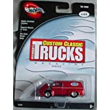 Hot Wheels 100% Classic Trucks Magazine Series 56 Ford 4/4 RED 1:64 Scale Collectible Die Cast Car