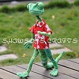 Rango Movie Character Plush Stuffed Toy Lizard Doll 18