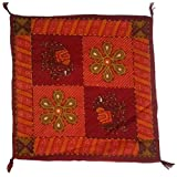 Fashion Home Jaipuri Printed Cotton Cushion Cover Set Of 5 - B00NQ4JY2W
