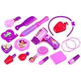 Modern Girl Cosmetic Pretend Play Toy Fashion Beauty Play Set W/ Assorted Beauty Accessories