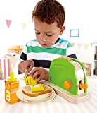 Hape - Playfully Delicious - Pop Up Toaster Wooden Play Kitchen Set