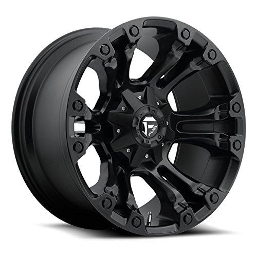 Fuel D560 Vapor 15×8 5×139.7 -16mm Matte Black Wheel Rim