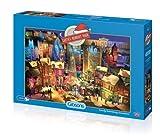 Gibsons Gibsons Santa's Midnight Magic Jigsaw Puzzle (1000)