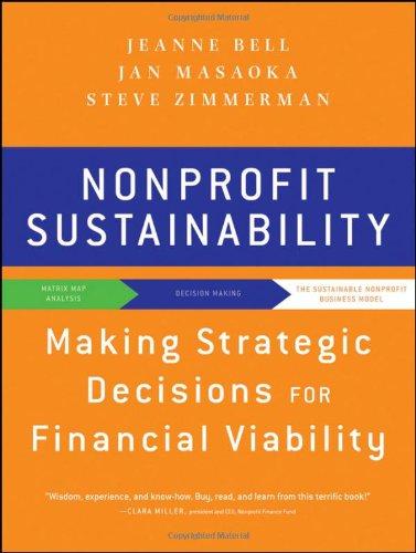 Nonprofit Sustainability: Making Strategic Decisions