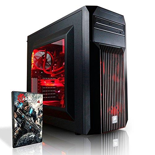 Megaport Gaming PC Intel Core i7-6700K • GeForce GTX1070 8GB • 250GB SSD Samsung 750 Evo • 16GB DDR4 2400 • Windows10 • 1TB • WLAN gamer pc computer desktop pc high end gaming pc gaming computer
