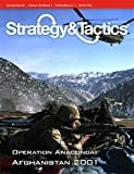 DG: Strategy & Tactics Magazine #276 with Operation Anaconda, Afghanistan 2002, Board Game