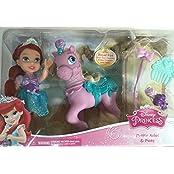 Disney Princess Petite Ariel And Pony Little Mermaid Doll Playset Toy