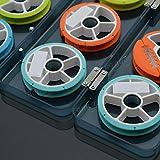 Generic 6 : CAMTOA 1Box 7CM 6 Axes 8 Axes Portable Plastic Fishing Line Wire Ribbon String Tape Bobbin Spools...