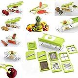 Gmn High Quality Vegetable & Fruits Cutter, Slicer, Dicer Grater & Nicer, Steel Blad (1)
