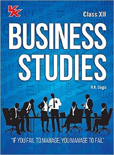 Business Studies Class 12 - Book 2017 Edition-R.K. Singla