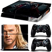 Elton Thor Theme 3M Skin Decal Sticker For PS4 Playstation 4 Console Controller