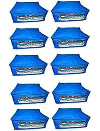 Abhinidi Non-Woven Multipurpose Large 10inc Sareee Cover 10PC Capacity 10-15 Units Saree Each - B01E7RF4QG