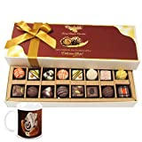 Chocholik Belgium Chocolates - 8 Milk And 8 White Attractive Chocolate Box With Diwali Special Coffee Mug - Diwali...