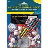 Baseball Favors Value Pack, 48pc