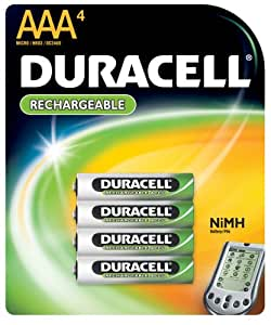 Amazon.com: Duracell Rechargeable AAA NiMH Batteries