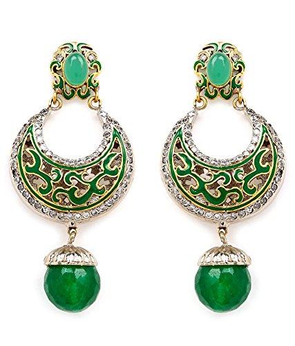 Akshim Multicolour Alloy Earrings For Women - B00NPY8DWK