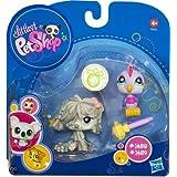 Littlest Pet Shop 2010 Assortment 'A' Series 3 Collectible Figure Mopdog & Bird
