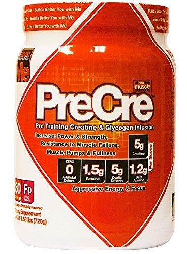 Muscle Elements Precre Diet Supplement, Fruit Punch, 1.58 Pound