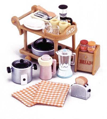 sylvanian family   kitchenset