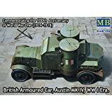 "Master Box Models 1/72 British Armoured Car ""Austin"" Mk.IV WWI Era Vehicle Kit"