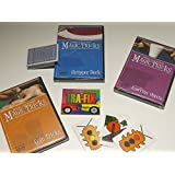 Amazing Easy To Learn Magic Tricks: Coin Magic Dvd, Pro Brand Bridge Size Stripper Deck With Dvd, Magic With Everyday...