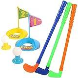 Generic Children Plastic Golf Balls Set Outdoor Fun Sports Toys Kindergarten Parent-Child Interactive Game Kids...