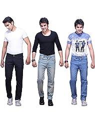X-CROSS Men's Slim Fit Jeans Combo (Pack Of 3) - B0132W4PL2