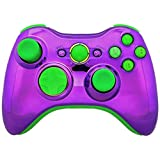Limited Edition Purple Chrome And Green Rapid Fire Controller For Xbox 360 And Tons More Features And Compatible...