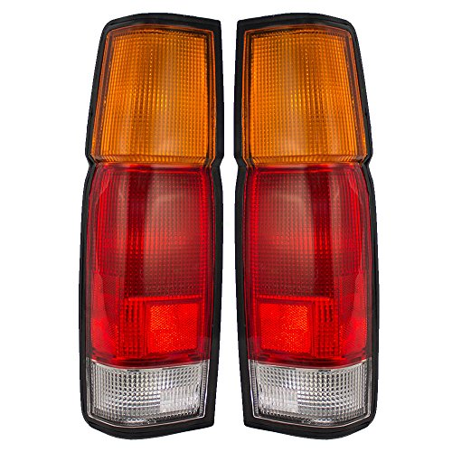 Driver and Passenger Taillights Tail Lamps Replacement for Nissan Pickup Truck B65553B300 B65503B300