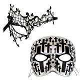 Colette-Cemetary Casanova - Masquerade Masks for a Couple