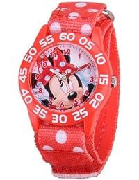 Disney Kids W001180 Minnie Mouse Plastic Time Teacher Watch