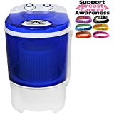 Best Rated Portable Single Tub Washing Machine EZYWASH By BaseCamp Mr. Heater F235883 (better Value Than Panda Small Compact Portable Washing Machine) + FREE BREO Skin Watch