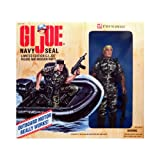 Kenner Year 1995 Limited Edition FAO Schwarz Exclusive Fully Poseable G. I. Joe 12 Inch Tall Soldier Action Figure - NAVY SEAL with Mission Raft, Raft Motor, Uniform, Hat, Dog Tag, Automatic Weapon with Silencer, Pistol in Holster, Knife in Holster, 2 Hand Grenades, Backpack, Canteen and Boots