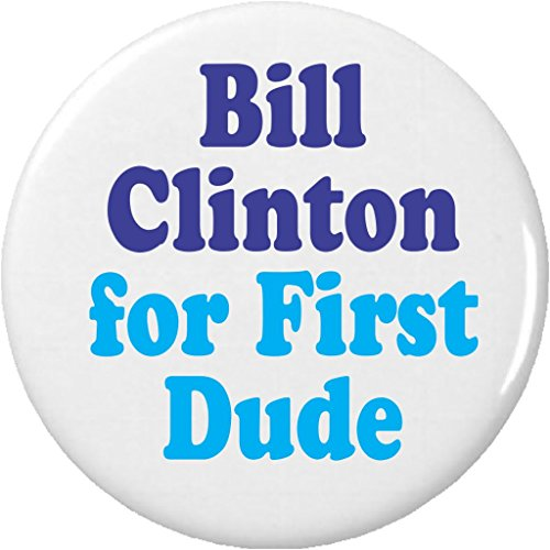 Trump and Clinton Halloween Costumes - Choose Edgy or Funny - Bill Clinton for First Dude 1.25