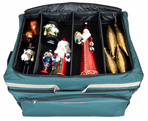 decor containers big w treekeeper ornament storage container w top pocket 10685
