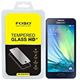 For Samsung A3 Round Curved 2.5D Edge FOSO(TM) 9H Hardness Toughened Tempered Glass Screen Guard Protector (99.99%...