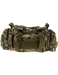 Imported Tactical Waist Pack Outdoor Shoulder Hand Bag Camping Jungle Digital