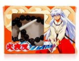 Dfunlife Plastic Inuyasha Cosplay Fang Necklace (Black)