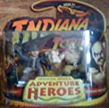 Indiana Jones Adventure Heroes - Indiana Jones And Marion Guard From Raiders Lost Ark